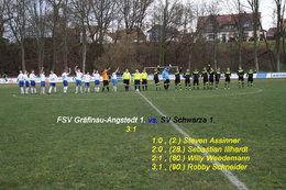 FSV Gräfinau-Angsredt 1. vs. SV Schwarza 1.