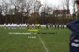 Pokalspiel FSV Gräfinau-Angstedt 1. vs. SV Traktor Teichel 1.