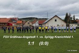 FSV Gräfinau-Angstedt 1. vs. SpVgg Kranichfeld 1.